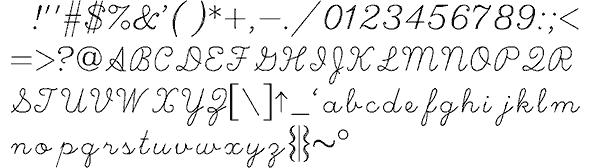 Hershey Script